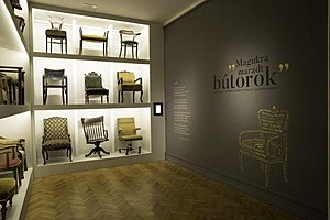 Furniture as Legacy. Writer's furniture in the collection of the Petőfi Literary Museum
