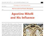 Lecture by Maria Ludovica Piazzi (Bologna): Agostino Mitelli and His Influence