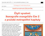 Lecture by Kateřina Kubínová: Four Chosens. Iconography Evangeliary Cim 2 of the Prague Metropolitan Chapter