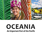 Oceania. An Important Part of the Pacific.